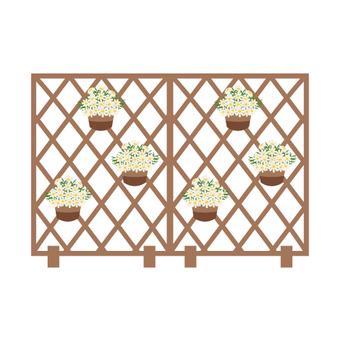 Margaret's fence (2 sheets)