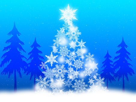 Fantastic holy night Christmas tree 4