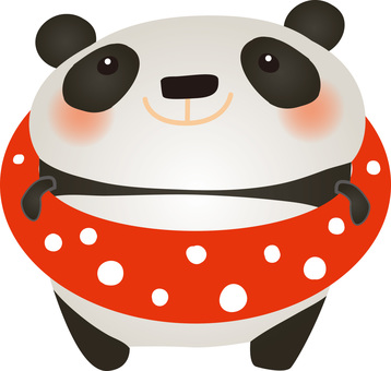 Panda floating wheel