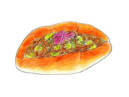 焼きそばパン02