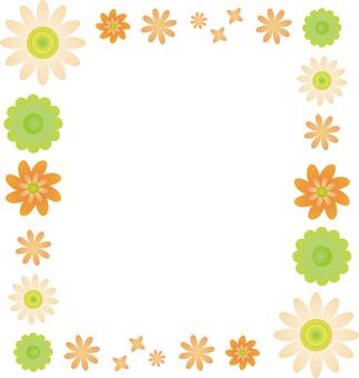 Flower 03 - frame square 01