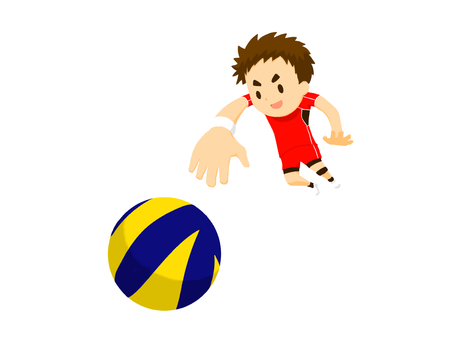 Volleyball player (attacker)