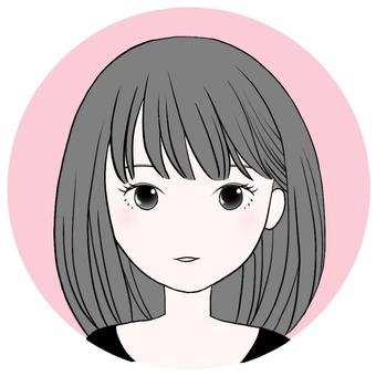 Free Icon 【Girl 2】