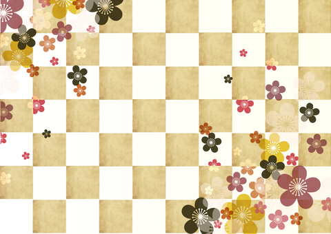 Japanese style background material 21
