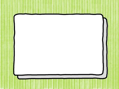 Transparent frame background stripe