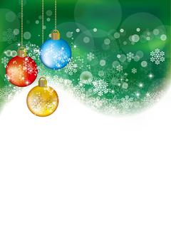 Snow Crystal Ornament Ball 22
