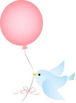 Bird balloon 1