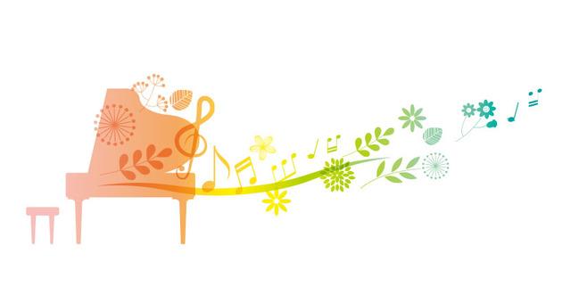 피아노에서 음표