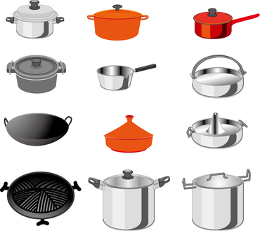 Types of pots
