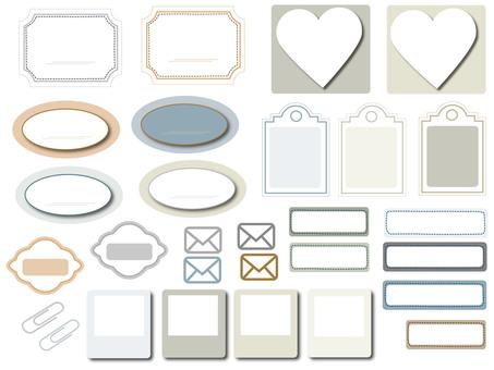 Label material Simple