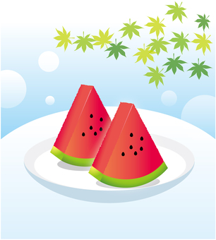 It's summer! It's sea! Watermelon!