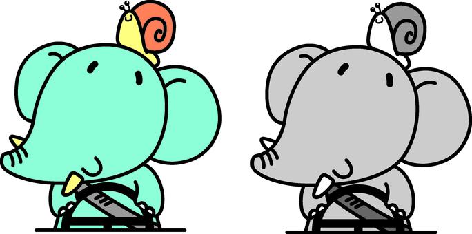 Traffic safety elephant