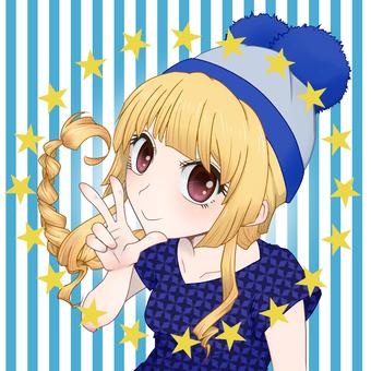 Girl icon 1