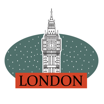 London travel labels