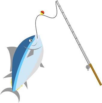Pin and tuna fishing
