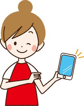 Women touching smartphones _ NA 29