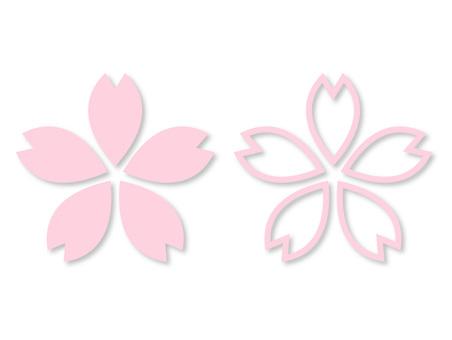 Cherry blossom pattern