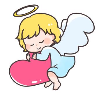 천사 짱 하트