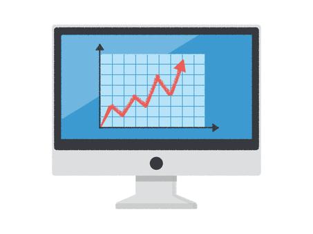 PC PC desktop PC graph