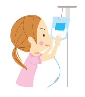 Nurse with infusion exchange
