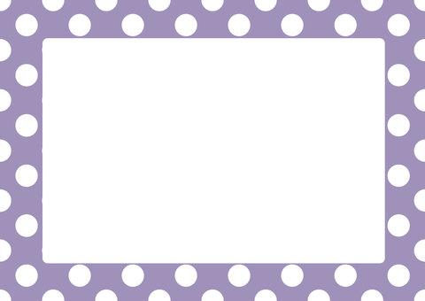 Dot frame (purple)