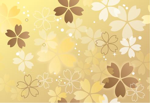 Sakura endless pattern spring