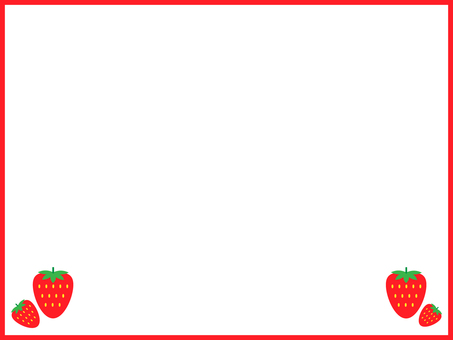 Strawberry frame strawberries
