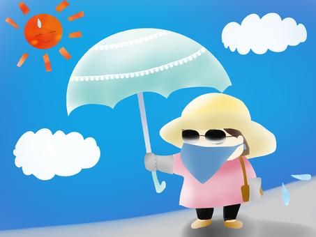 Anti-sun protection