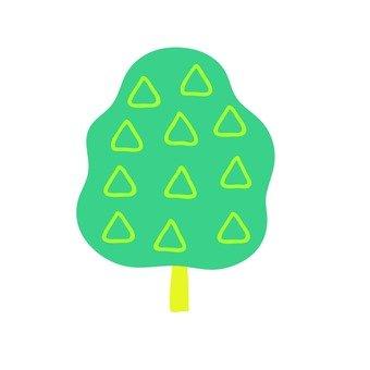 Scandinavian trees (green)