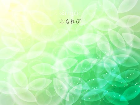 Leaf and polygon image 09