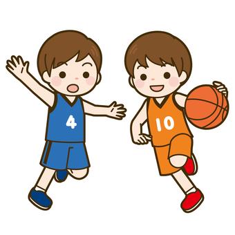 State of basketball game (boys)