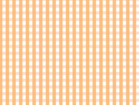 Gingham Check Orange