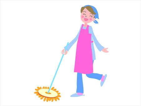 Rinku mopping