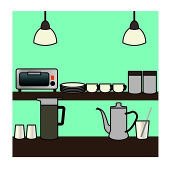 Kitchen / coffee shop
