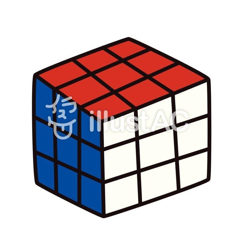 ルービックキューブイラスト No 680945無料イラストならイラストac