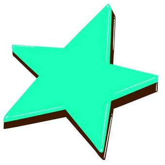 星形雙層巧克力薄荷