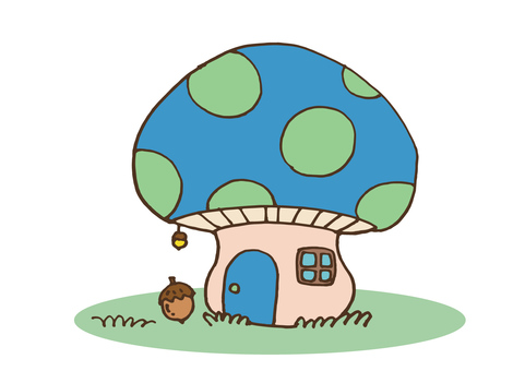 mushroom_ 버섯 집 2