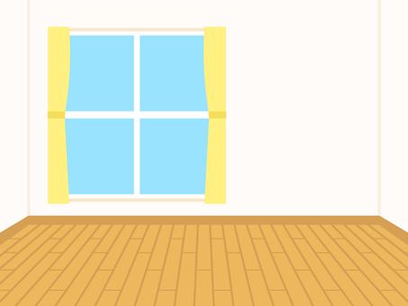 簡単な家 フローリング部屋 背景