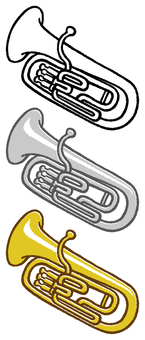 Instrument (Euphonium) 3 colors