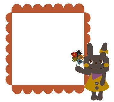 Black rabbit frame