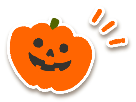 Halloween icon pumpkin