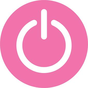 Power button (peach white)