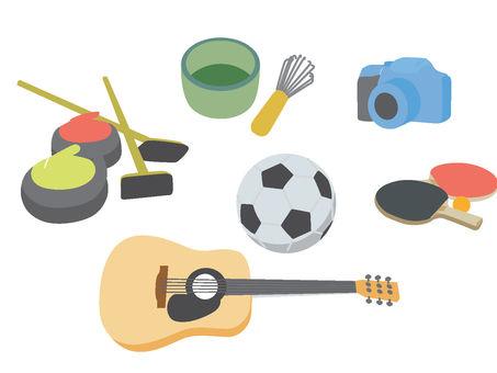 Hobby goods set