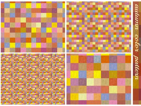 背景秋冬天模式格子幾何模式豐富多彩