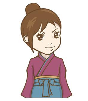 Kimono clerk