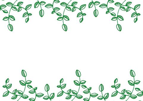 Postcard leaf frame 3
