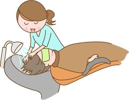 Hairdresser to do shampoo
