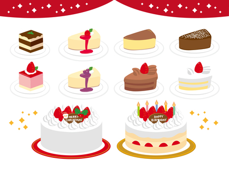 Christmas · Birthday Cake