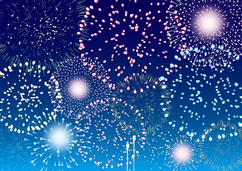 Summer image fireworks 11