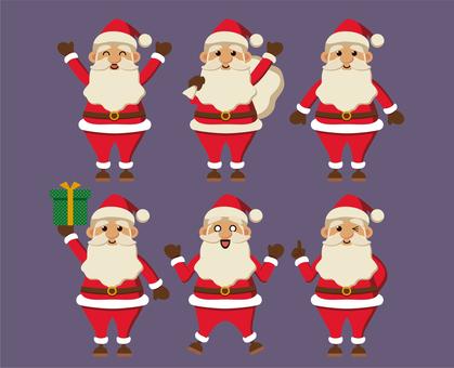Santa Claus material